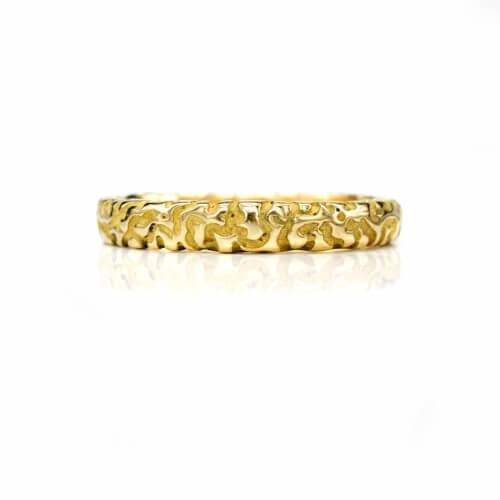 Artistically Crafted Wedding Ring