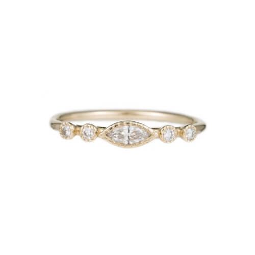 smith diamond marquise pruden product engagement marquee ring and